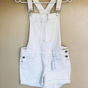 💖3/$25💖 White Overall Shorts (NWT)